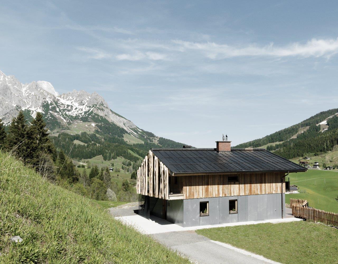 Ferienhaus mit vintage fassade 100 h user - Ferienhaus architektur ...